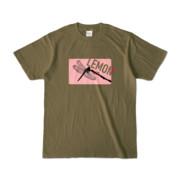 Tシャツ | オリーブ | Dragonfly_LEMON