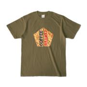 Tシャツ | オリーブ | 五角☆互角COFFEE