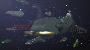 ガルマンガミラス帝国艦隊 八八世界ver【ヤマトMMD】