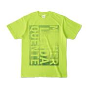 Tシャツ | ライトグリーン | M☆L☆Q_Sky
