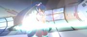 Thousand Master Cyber Rock 01ーライトセーバーを抜刀した瞬間の図