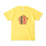 Tシャツ | イエロー | 五角☆互角COFFEE