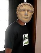 古代ローマ皇帝と化した遠野
