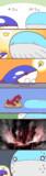 カイオーガより大きいので浮かれたホエルオー