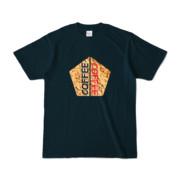 Tシャツ   ネイビー   五角☆互角COFFEE