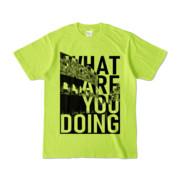 Tシャツ | ライトグリーン | 何してるColosseo