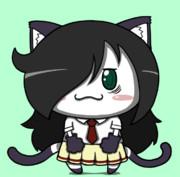 ポジティブ猫ヤミーくん  「わたモテ もこっちコス」