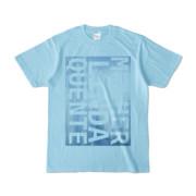 Tシャツ | ライトブルー | M☆L☆Q_Sky