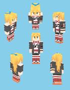 【Minecraft】弦巻マキ:CeVIOAI衣装【Alex】