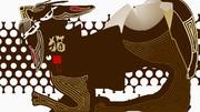 「猫 83」※POP・線画・彩・おむ09258