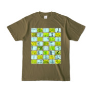 Tシャツ | オリーブ | Steel20_and_Grass20