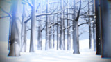 雪の木立ステージ【ステージ配布】