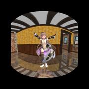【VRMMD】世界カメラ版:デュランタちゃん張りきって踊ったら少し緩んだみたい