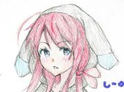 江風さんとお絵描き練習5