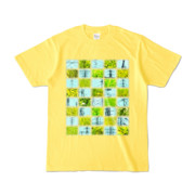 Tシャツ | イエロー | Steel20_and_Grass20