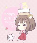 Happy Birthday 13???