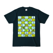 Tシャツ   ネイビー   Steel20_and_Grass20