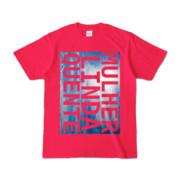 Tシャツ   ホットピンク   M☆L☆Q_Sky
