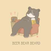 ビールとクマとヒゲ