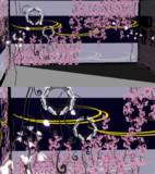 【MMDステージ配布】桜の部屋