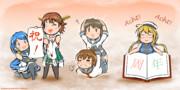 【艦これ】Acht! Acht! Acht!【五月雨/比叡/深雪/電/伊8】