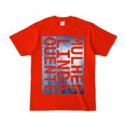 Tシャツ   レッド   M☆L☆Q_Sky