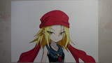 【シャーマンキング】恐山アンナ描いてみた。