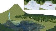 チルノのお家と霧の湖