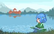 【GIF】湖畔姫
