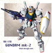 ガンダムMk-Ⅱ(準備稿デザイン版)