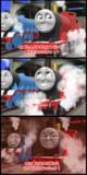自分が主役の絵本が出ることに喜ぶ機関車