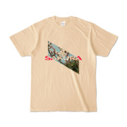 Tシャツ | ナチュラル | Slant_SAKURA