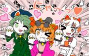 【東方】あざとくがめつい猫ちゃんズ