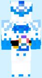 マイクラスキン 仮面ライダーブレイズ タテガミ氷獣戦記