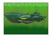 ガミラス次元潜航艦異次元空間