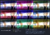 【MME】ScreenTex改変 和色