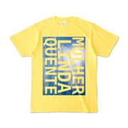 Tシャツ | イエロー | M☆L☆Q_Sky