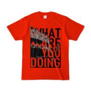 Tシャツ | レッド | 何してるColosseo