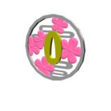【配布】カナヲの日輪刀の鐔【MMDアクセサリ】