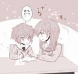『ほっこりお姉さん と ツンデレ弟』ラクガキ5