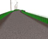 【MMD-OMF11】フレキシブル未舗装路