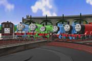 レギュラー機関車集合