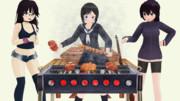 【MMM】肉食系女子バーベキュー会