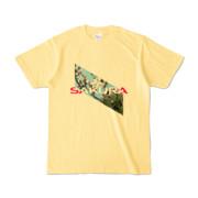 Tシャツ | ライトイエロー | Slant_SAKURA