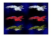 ガミラス格闘戦闘機ツヴァルケ宇宙