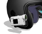 【MMD-OMF11】バイク用ヘルメットマウントカメラ