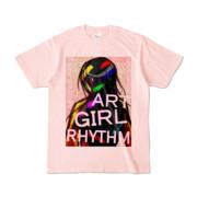 Tシャツ | ライトピンク | AGR_Emotional
