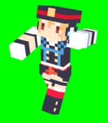 【Minecraft】スキン 津久井シズノ プレビュー
