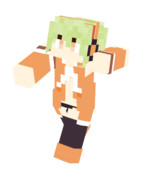 【Minecraft】スキン スカイフェザー プレビュー