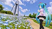 【MMD花フェスタ2021】ネモフィラ